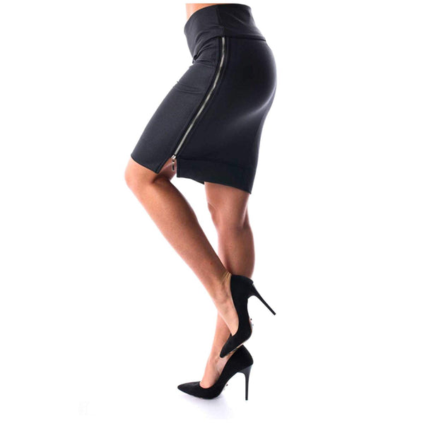 Amnesia Mini Skirt Black