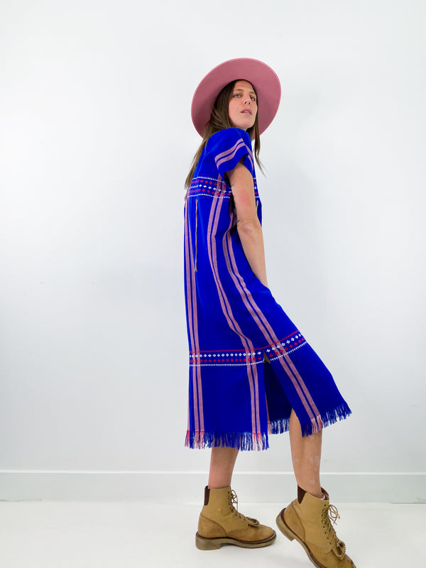 Woven Mexicana Huipil Dress