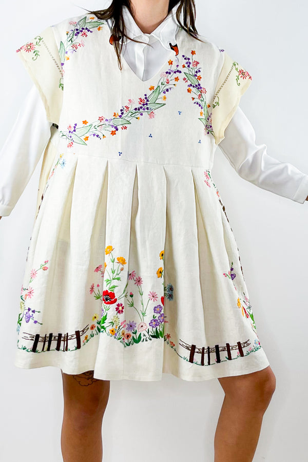 1950's Handmade Marching band Dress