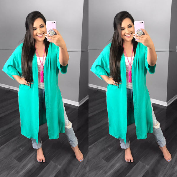 TURQUOISE DUSTER