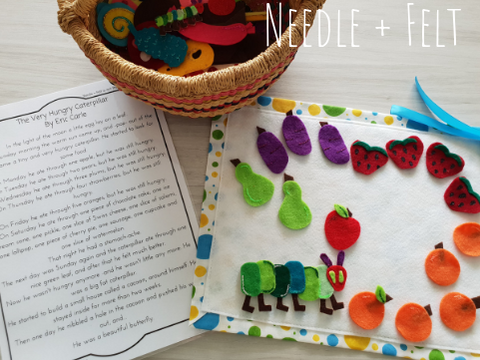 Needle and Felt The Very Hungry Caterpillar Felt Kit