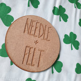 Clovers a4 Roll Up Felt Play Mat