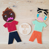 Emotions Play Felt Board Kit