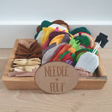 Felt Food DIY Kit by Needle + Felt