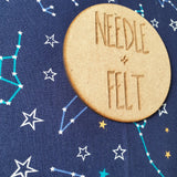 Constellation a3 Roll Up Felt Play Mat