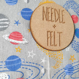 Space a3 Roll Up Felt Play Mat