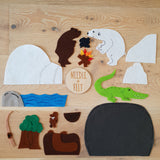The Very Hungry Bear Felt Board Story