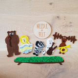 The Very Noisy Bear Felt Board Story