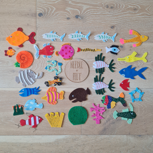 Hooray For Fish Felt Board Story
