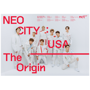 NCT 127 World Tour Poster