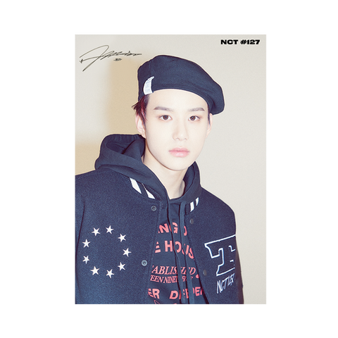 Jungwoo Signed Poster + Digital Album