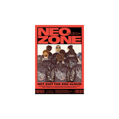 The Second Album 'NCT #127 Neo Zone' (C Ver.) CD + Digital Album