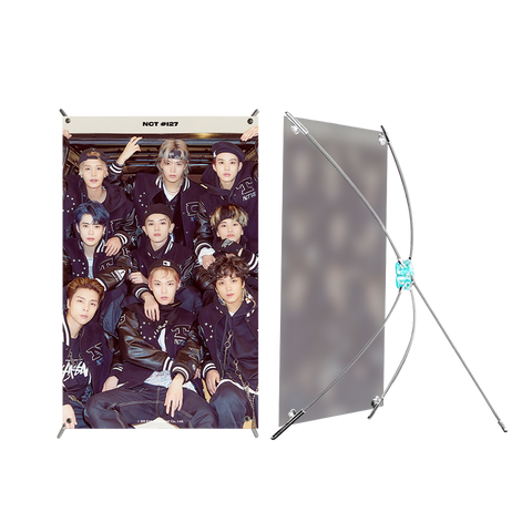 NCT 127 Mini Stand Banner + Digital Album