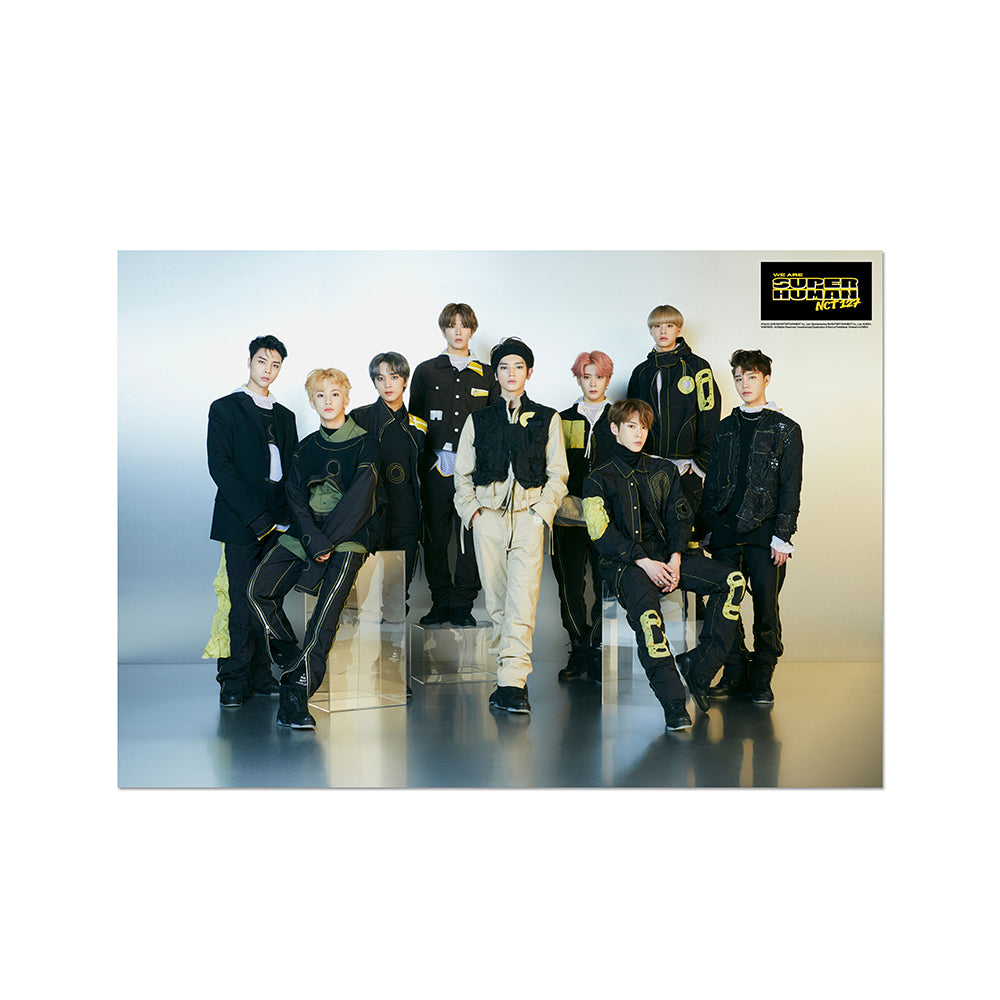 The 4th Mini Album 'NCT #127 WE ARE SUPERHUMAN' CD