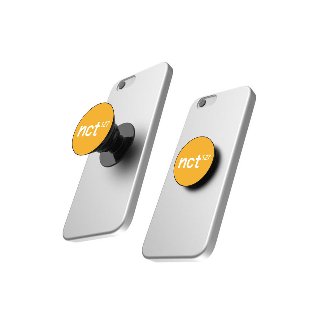 NCT 127 Superhuman Yellow Pop Socket
