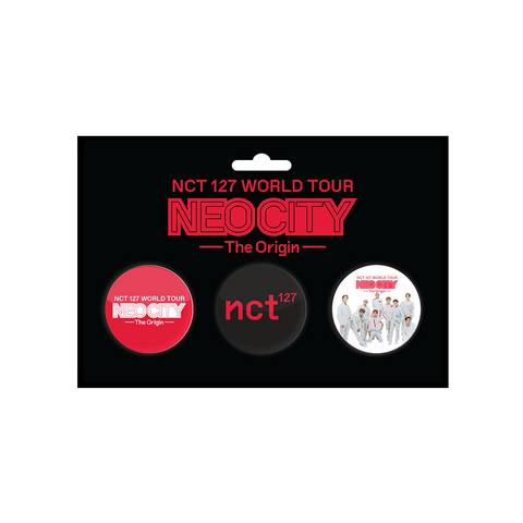 NCT 127 Button Pack