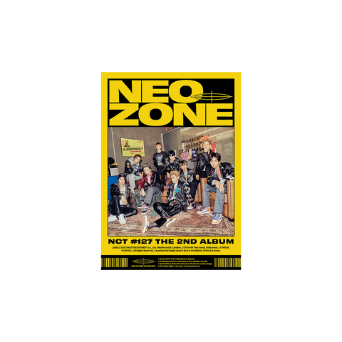 The Second Album 'NCT #127 Neo Zone' (N Ver.) CD + Digital Album