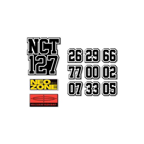 NCT 127 Patch Set