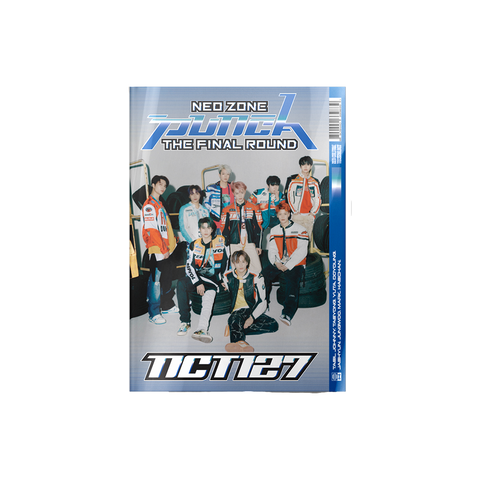 The 2nd Album Repackage 'NCT #127 Neo Zone: The Final Round' CD (1st Player Ver.)