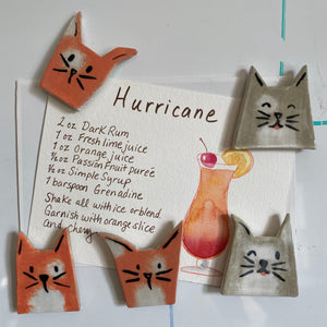 Kitty Note Magnet