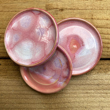 Load image into Gallery viewer, Coral Pink Trinket Tray Trio