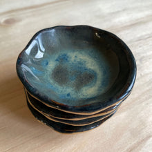 Load image into Gallery viewer, Dark Storm Dipping Bowl & Chopstick Holder Set