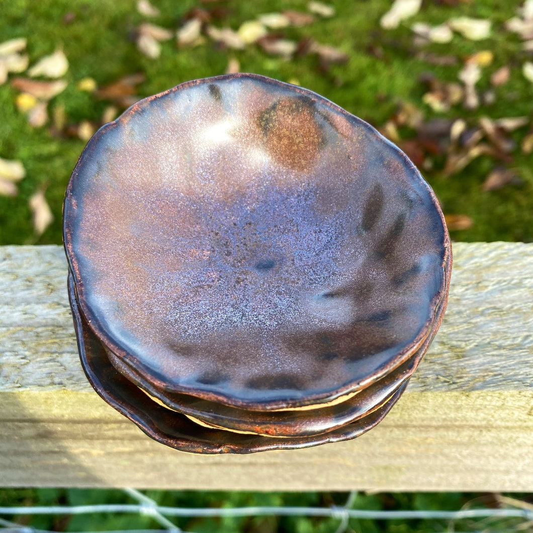 Copper Trinket Bowl Quartet