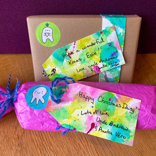 Eco-Friendly Gift Tags Set