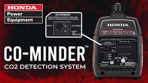 HAVE YOU SEEN THE NEW HONDA GENERATORS WITH CO-MINDER?