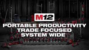 MILWAUKEE M12 LINE ... PUNCHING ABOVE ITS WEIGHT CLASS!