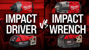 IMPACT DRIVER VS IMPACT WRENCH!