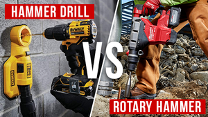 Its Hammer Time! ... Hammer Drills VS. Rotary Hammers