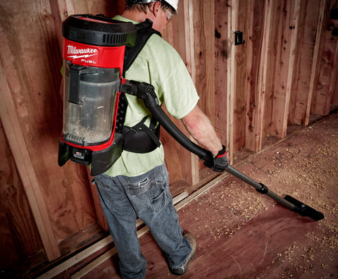 Milwaukee M18 3-in-1 Cordless backpack vacuum SKU: 0885-20