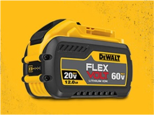DeWALT FLEXVOLT battery 60V Max