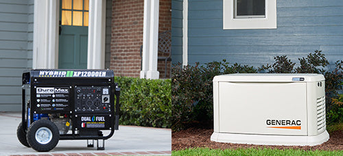 Portable VS Standby Generators for Home backup