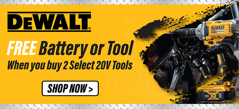 FREE Battery or Tool with 2 Select 20V Tools. SBDK-20110