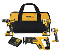 DeWALT Impact Driver and Hammer Drill Combo Kit.