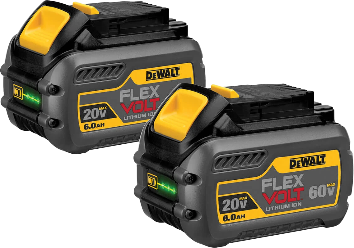 FlexVolt 2 pack of batteries