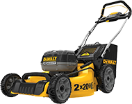 DeWALT Outdoor Power Equipment including mowers, hedge trimmers, string trimmers, chainsaws and more.