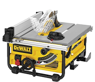 DeWALT Chain Saws, Circular Saws, Table Saws, Reciprocating Saws.