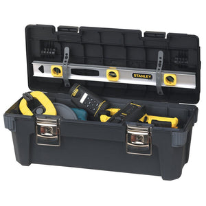 Stanley 026301R 26-Inch Extra Large Capacity Aluminum Handle Pro Toolbox
