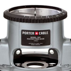 Porter-Cable 1001 Router Base for Porter-Cable 3-1/2-Inch Diameter Router Motors