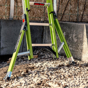 Little Giant 17836 36-Foot Fiberglass HyperLite SumoStance Extension Ladder