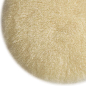 Porter-Cable 18007 6-Inch Diameter Fine Lambs Wool Hook and Loop Polishing Pad
