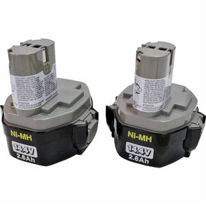 Makita 194157-8 1434 14.4V 2-3/5-Amp Hour NiMH Pod Style Battery 2-Pack
