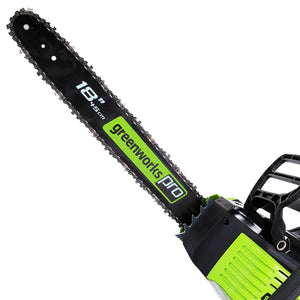 GreenWorks GCS80450 80-Volt 18-Inch Cordless Chainsaw - Bare Tool - 2000402