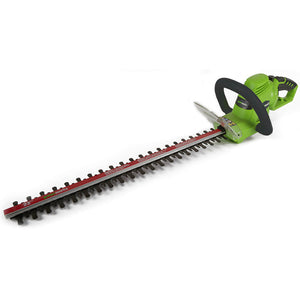 GreenWorks 22122 22-Inch 4-Amp 180-Degree Rotating Hedge Trimmer