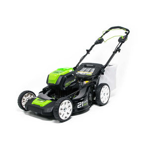 "Greenworks 2502402TNVAZ 80V 21"" Cordless Self-Propelled Lawn Mower - Bare Tool"