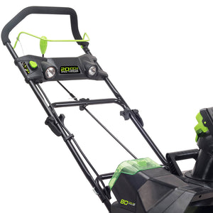 GreenWorks 2601302 80-Volt 20-Inch Cordless Snow Thrower - Bare Tool
