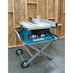 Makita 2705X1 10 In Portable Contractor Table Saw with Table Saw Stand